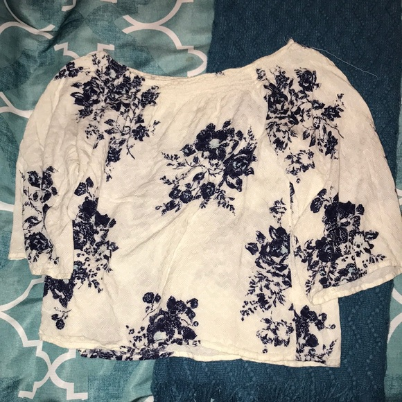 Love Stitch Tops - Off the shoulder top